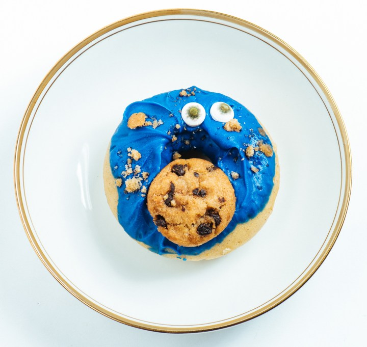 Cookie Muncher Donut by Babinka Treats