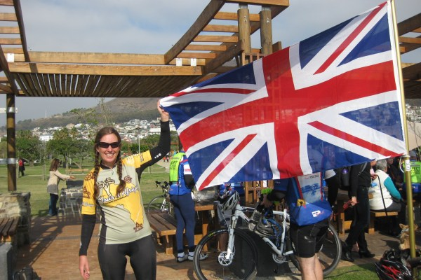 Tour d'Afrique TDA Alice Morrison Adventurer