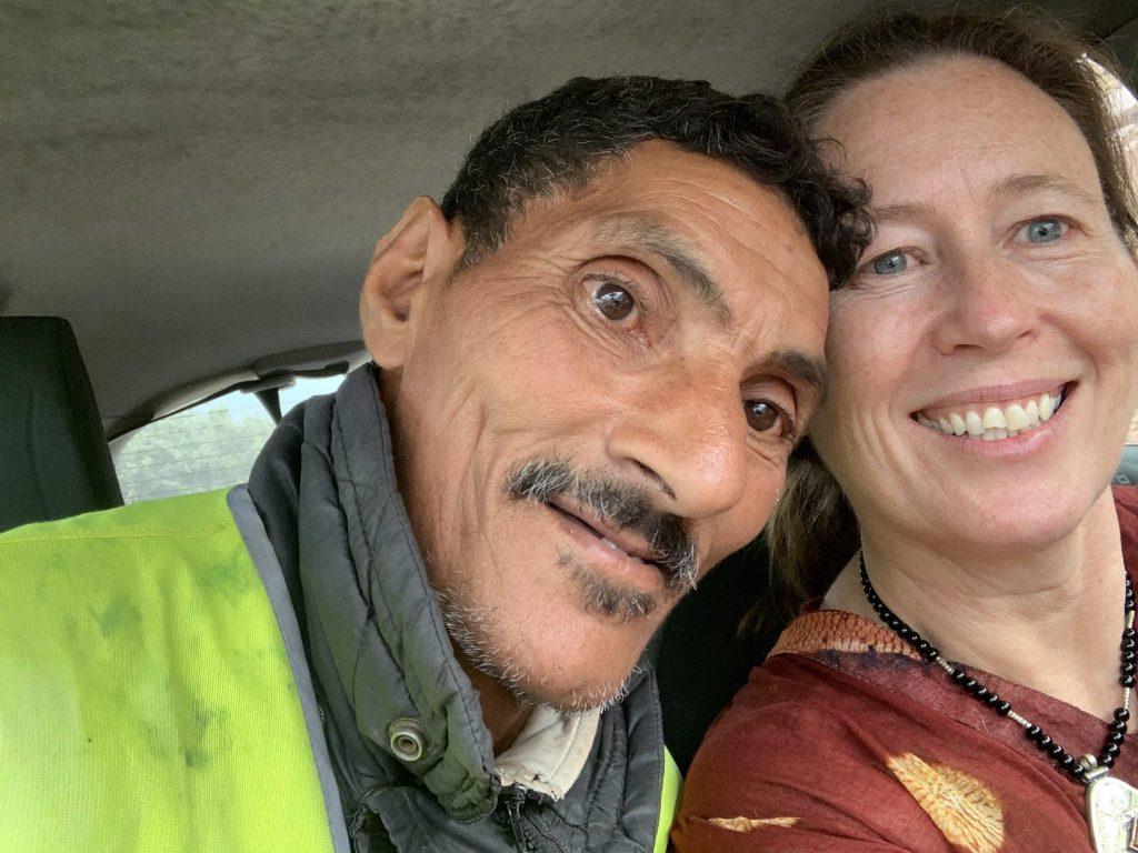 Mohamed roadworker morocco