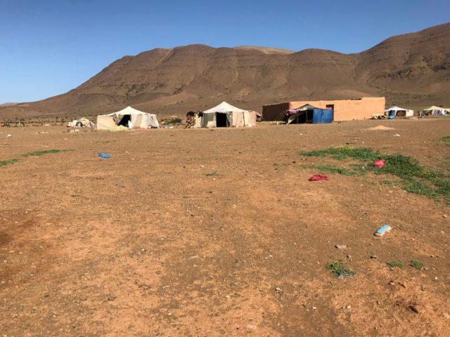 desert encampment tighmert guelmim