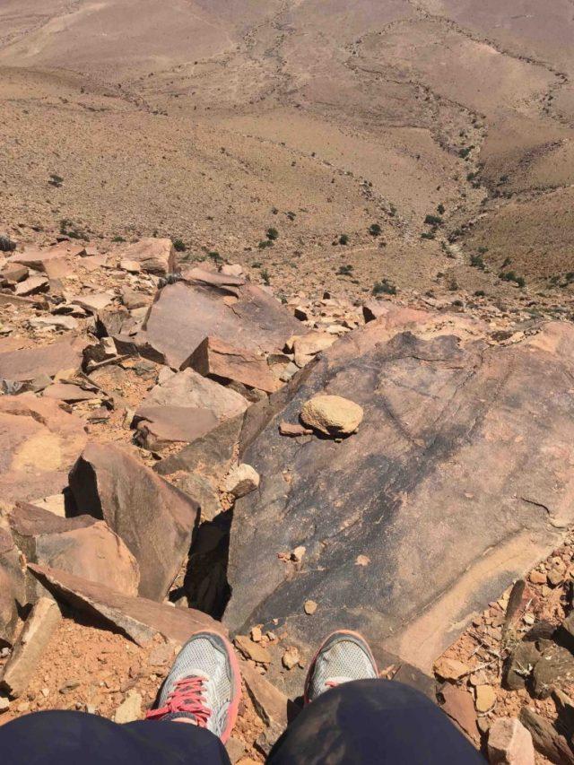 desert hiking Guelmim