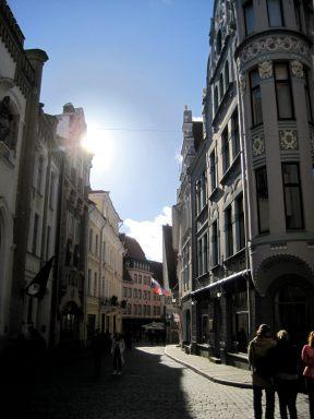 The centre of Tallinn