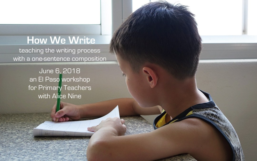 How We Write
