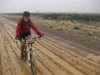 Grinding through the mud