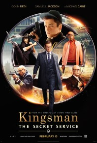 Kingsman: The Secret Service - Movie Poster
