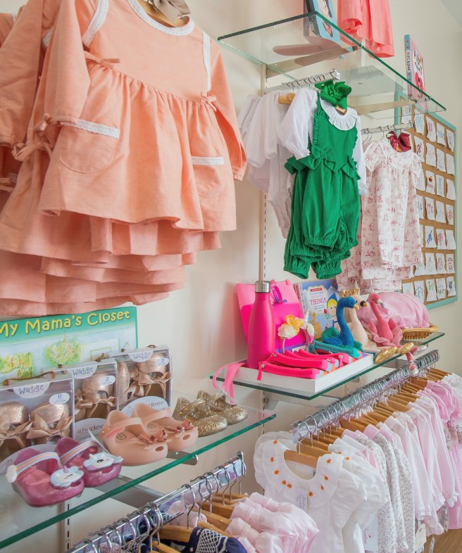 My Mama's Closet on display in Bambinos' new San Antonio location (Kody Melton, photographer)