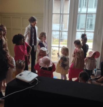 Reading & Dress Up at Cutrer Mansion