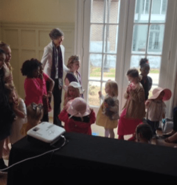 Reading & Dress Up at Cutrer Mansion