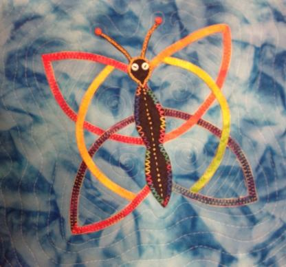 Celtic Knotwork Butterfly