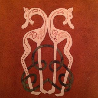 Celtic Knotwork and Felt Applique