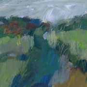 Alice Sheridan abstract landscape painting