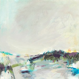 small abstract landscape by Alice Sheridan