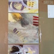 Alice Sheridan 365create abstract painting mixed media