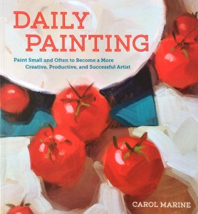 Daily Painting by Carol Marine book cover