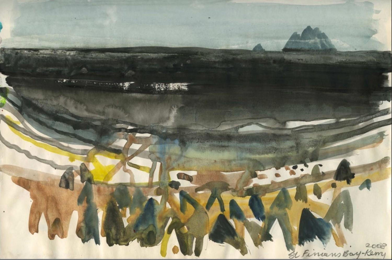 Barbara Rae sketchbook Kerry 2008
