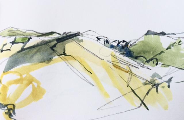 watercolour-hills