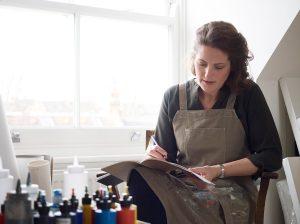 Alice Sheridan London studio artist