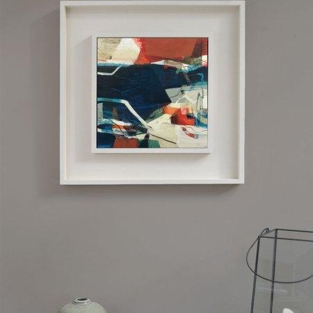 Jumping Point (framed) Alice Sheridan