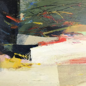 Consequence (detail) Alice Sheridan abstract painting