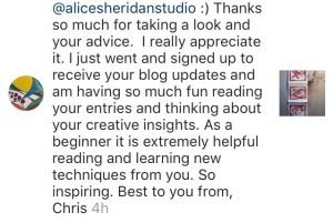 Alice Sheridan newsletter