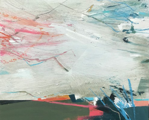 Poems in the Air abstract landscape painting by Alice Sheridan