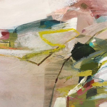 abstract painting close up detail