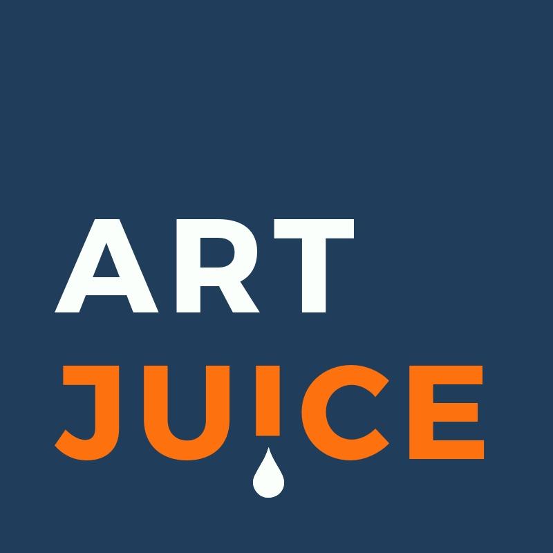Art Juice podcast logo
