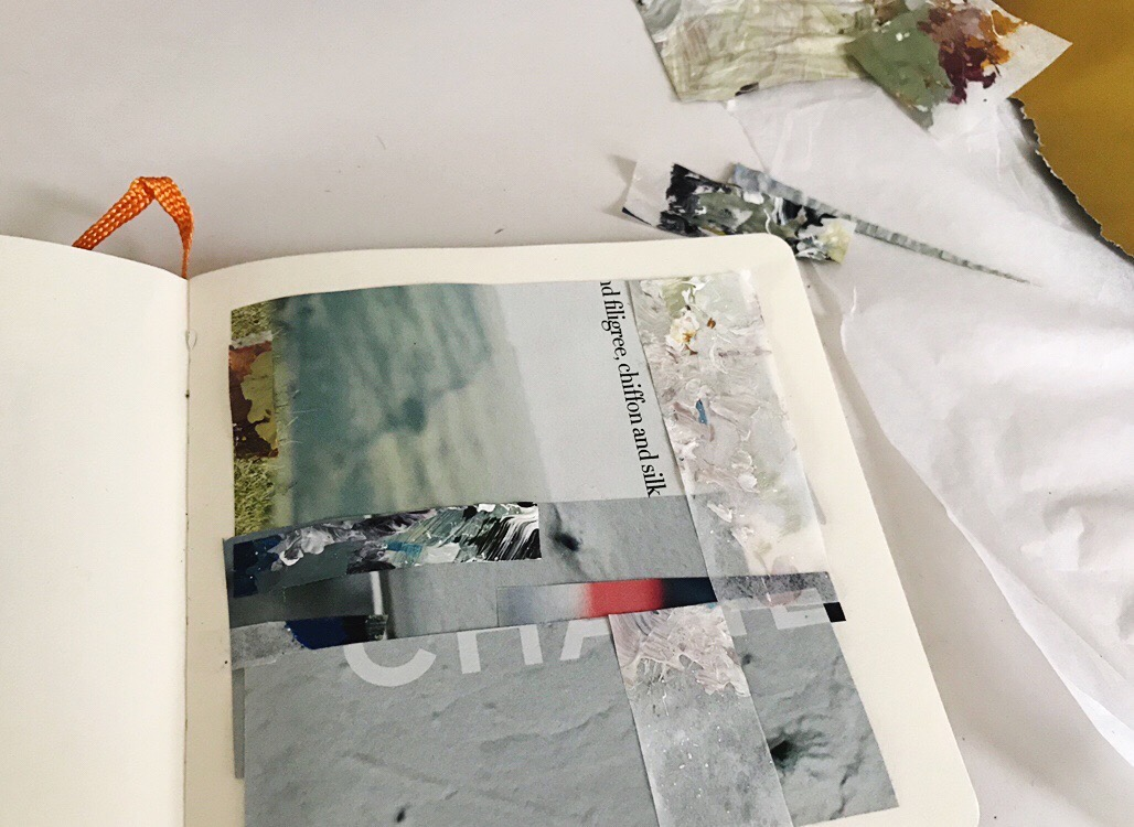 Alice Sheridan abstract sketchbook page