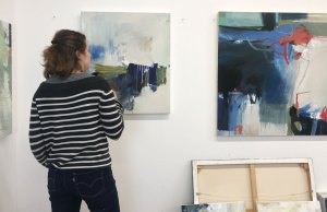 Alice Sheridan new artist studio September 2019