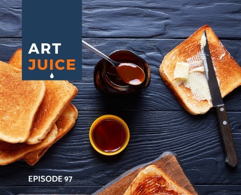 Art Juice podcast do you have to like the artist behind the art?