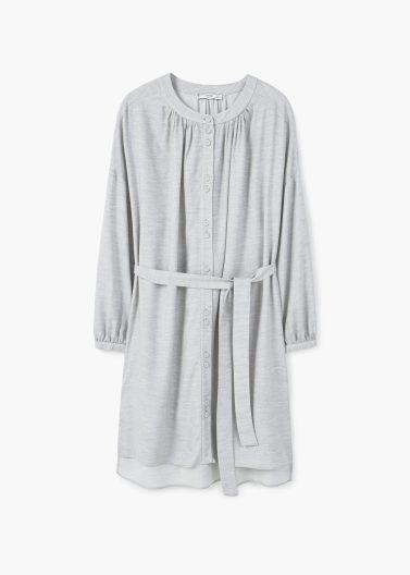 Grey Shirt Dress, Mango