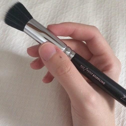 122 Petit Stippling Brush, Zoeva