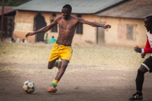 Soccer builds fun friendship and hope in Kamwenge