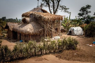 Genius architecture by Congolese Refugees