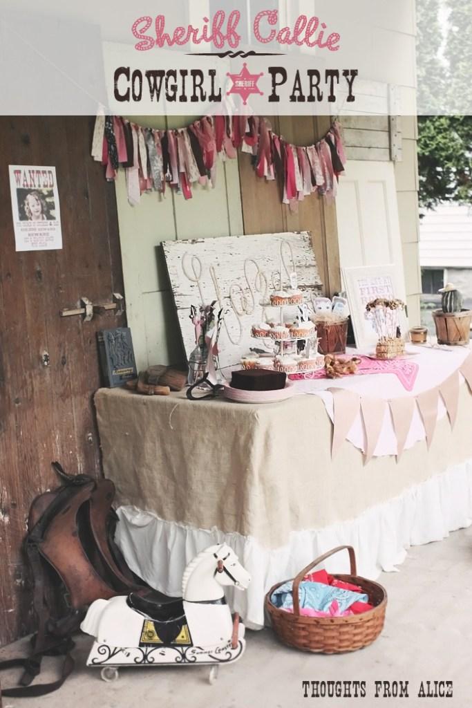 Hazel S Sheriff Callie Inspired Cowgirl Birthday Party