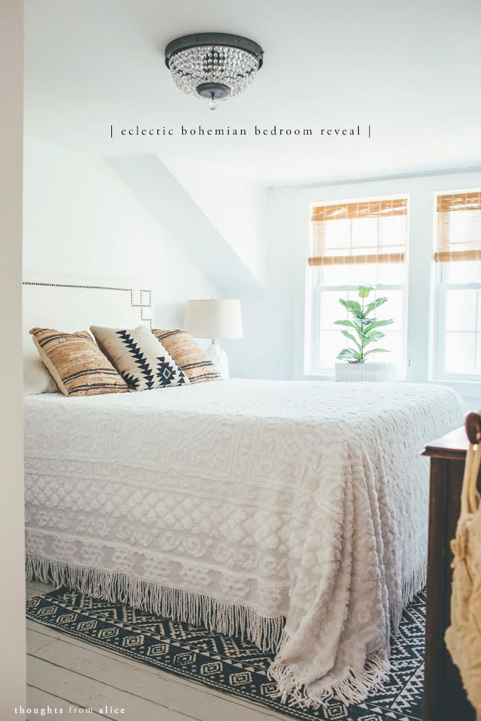 Eclectic Bohemian Bedroom Reveal – Alice Wingerden on superhero boys bedroom decorating ideas, eclectic interior decorating ideas, eclectic den decorating ideas, eclectic backyard decorating ideas, eclectic bedroom furniture, eclectic kitchen decorating ideas, eclectic teen bedroom, eclectic master bathroom,
