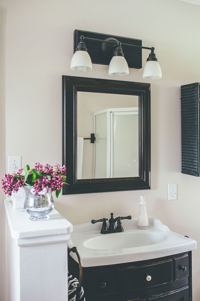 Simple Bathroom Redo and Staged to Sell