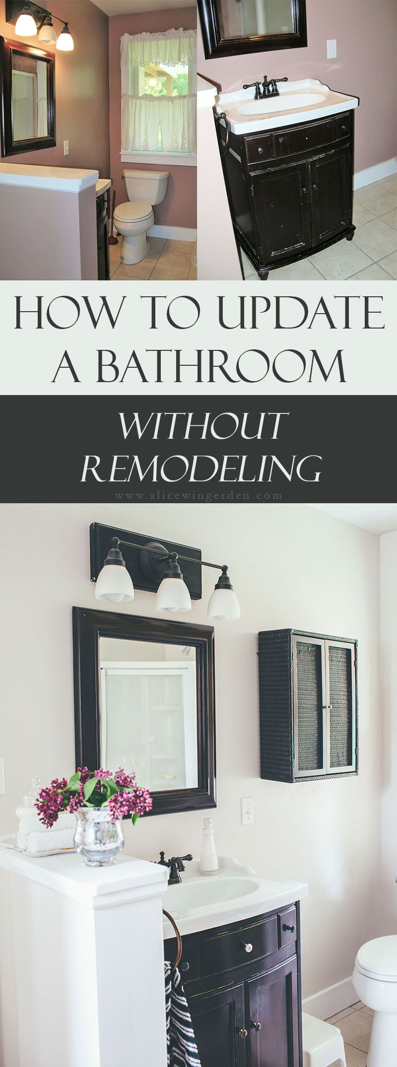 How to Update a Bathroom Without Remodeling