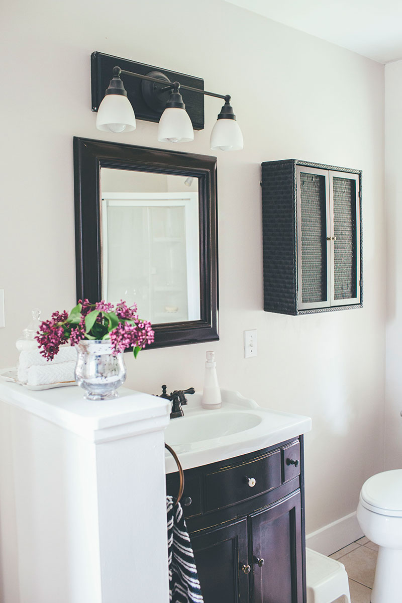 Updating A Bathroom Without Remodeling Alice Wingerden - Quick bathroom remodel