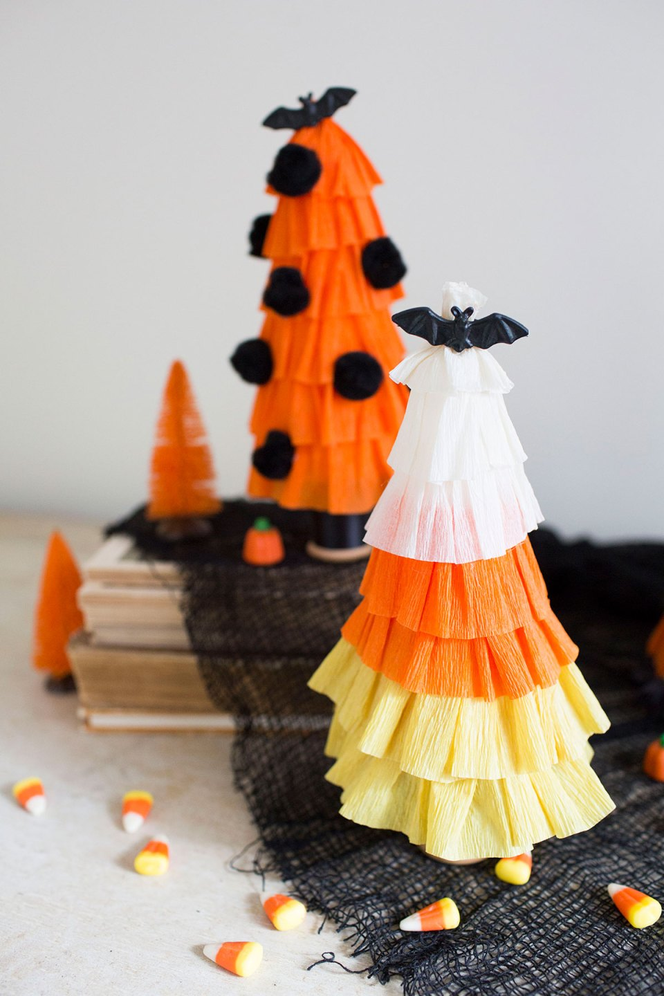 Candy Corn Halloween Tree