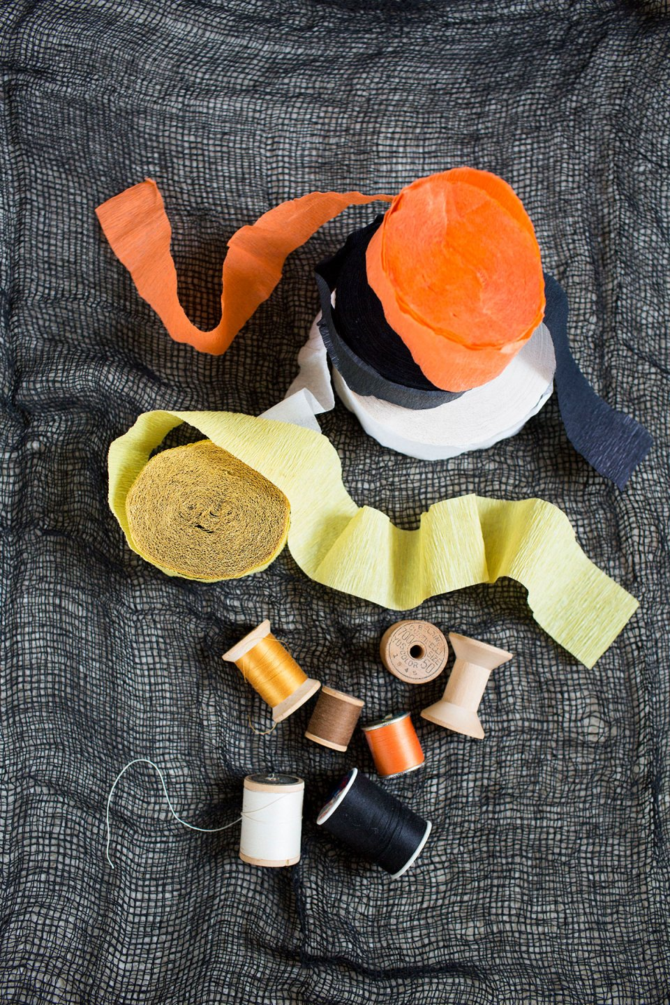 Craft Supplies for Halloween Trees