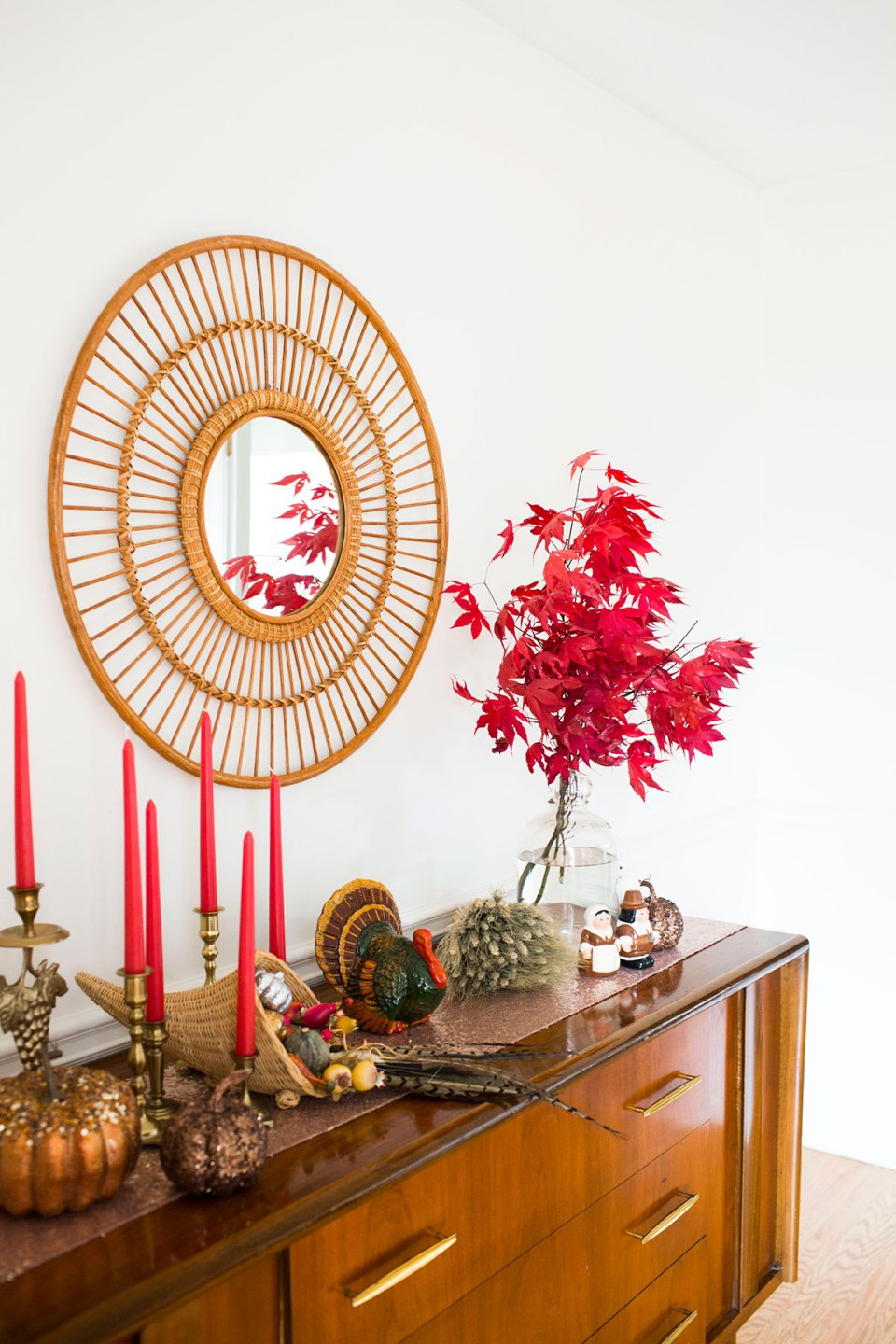 Eclectic Thanksgiving Dining Room