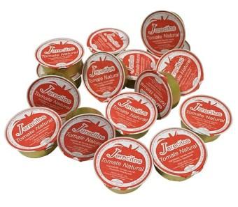 Desayunos sanos. Monodosis tomate natural Jerecitos