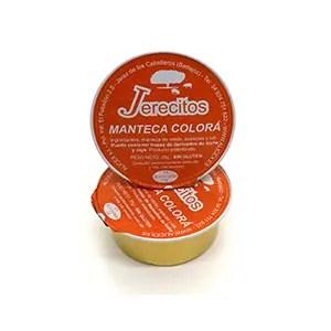 monodosis de manteca colorada Jerecitos
