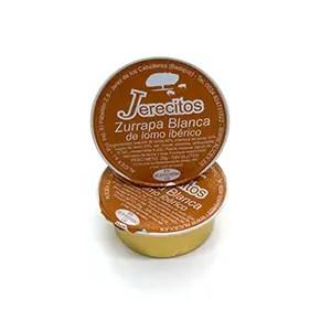 monodosis de zurrapa blanca de lomo Jerecitos