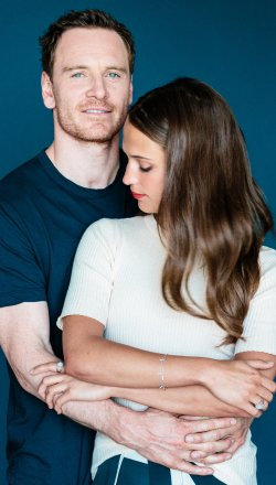 Michael Fassbender and Alicia Vikander, the stars of Derek Cianfrance's new film, 'The Light Between Oceans'