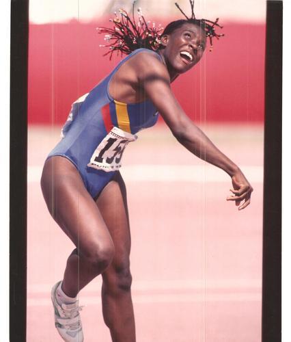 Zorobabelia Córdoba - Atleta colombiana