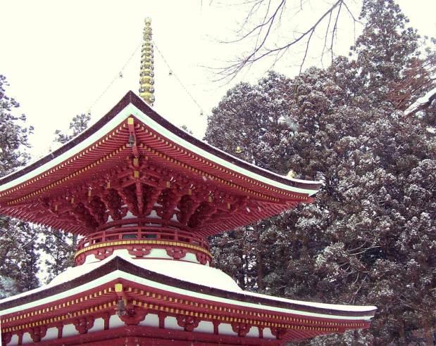 Konpon Daito at Koya-san; Wakayama, Japan; 2006