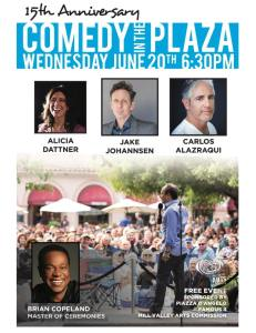 Comedy in the Plaza @ Mill Valley | California | United States