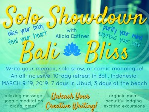 Solo Showdown Bali Bliss